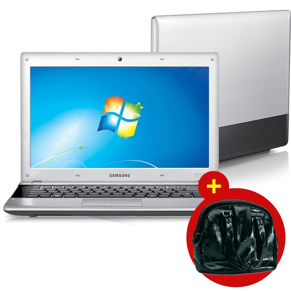KIT NOTEBOOK AMD DUAL CORE RV415CD1 2GB HD 320GB WINDOWS 7 STARTER TELA DE 14 SAMSUNG BOLSA FEMININA P NOTEBOOK ATE