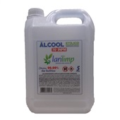 Álcool Líquido 70% 5L 1 UN Larilimp