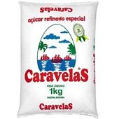 Açúcar Refinado 1kg 1 UN Caravelas