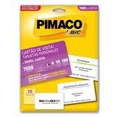 Cartão de Visita Personal Cards PT 100 UN Pimaco