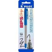 Caneta Esferográfica Grip Azul 1.6mm 1 UN Pilot