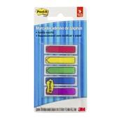 Marcador de Página Adesivo Flags Setas 5 Cores Sortidas 11,9 mm x 43,2 mm 100 folhas Post-it