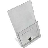 Display de Mesa Vertical com Bolso 20x12cm 90022 1 UN Acrinil