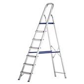 Escada Doméstica Prima com 7 Degraus em Alumínio 1 UN Alustep