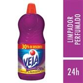 Limpador Perfumado 2L Lavanda e Bem Estar com 30% de Desconto 1 UN Veja