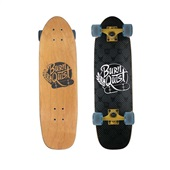 Skate Cruiser Bob Burniquist Preto e Cinza ES169 1 UN Atrio