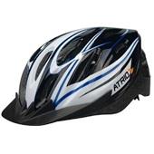 Capacete para Ciclista MTB Preto e Azul M BI037 1 UN Atrio