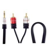 Cabo de Áudio P2 x 2 RCA 1,8m WI287 1 UN Multilaser