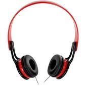 Headphone Xtream 360 com Haste Ajustável Vermelho PH083 1 UN Multilaser