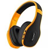 Headphone Over Ear Stereo Bluetooth e Conector P2 Amarelo PH151 1 UN Pulse
