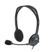 Headset Stereo com Microfone P2 Cinza H111 1 UN Logitech