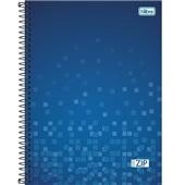 Caderno Universitário Capa Dura 96 FL Azul 1 UN Tilibra