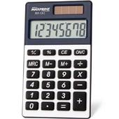 Calculadora de Bolso 8 Dígitos Cinza e Preta MXC82 1 UN Maxprint