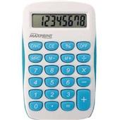 Calculadora de Bolso 8 Dígitos Azul e Branca MXC85 1 UN Maxprint