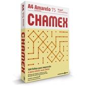 Papel Sulfite Colors Amarelo 75g A4 210x297mm PT 500 FL Chamex