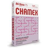 Papel Sulfite Color Rosa 75g A4 210X297mm PT 500 FL Chamex