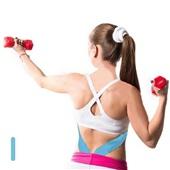 Fita Kinesio Muscle Fix Pre Cortada em I 5m Azul HC138 1 UN Multilaser