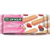 Biscoito Wafer Morango 160g 1 UN Piraquê