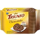 Biscoito Amanteigado Chocolate 330g 1 UN Triunfo