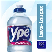 Detergente Líquido 500ml Clear 1 UN Ypê