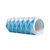 Rolo de Exercício Yoga Premium 14x33cm Cinza ES228 1 UN Atrio