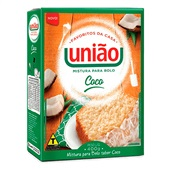 Mistura para Preparo de Bolo de Coco 400g 1 UN União