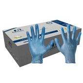Luva de Vinil P Azul C.A 21120 CX 100 UN Danny
