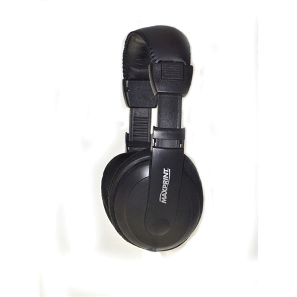 Fone de Ouvido Headphone Profissional Maxprint 6011444