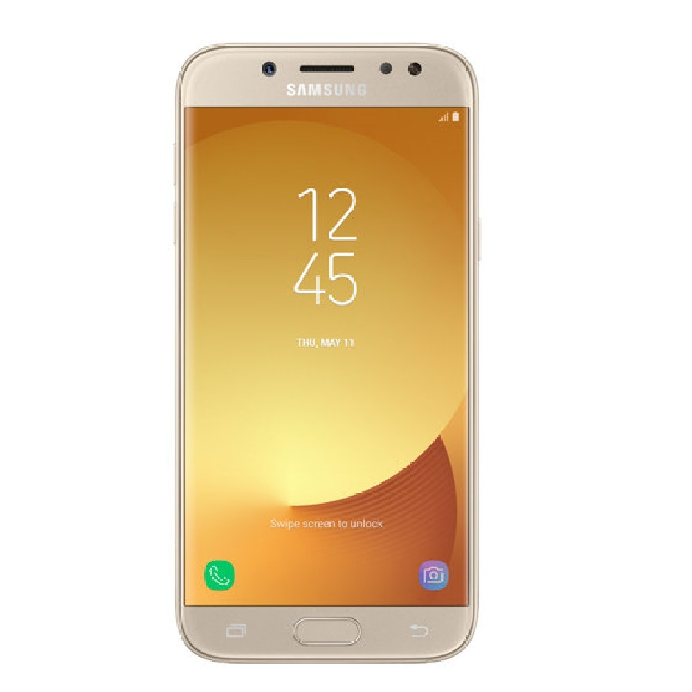 Smartphone Galaxy J5 Pro Dual Sm Quad Core 1.6ghz Android Tela 5,2 Câmera 13mp Wifi 4g Memória Interna 32gb Dourado 1 Un Samsung