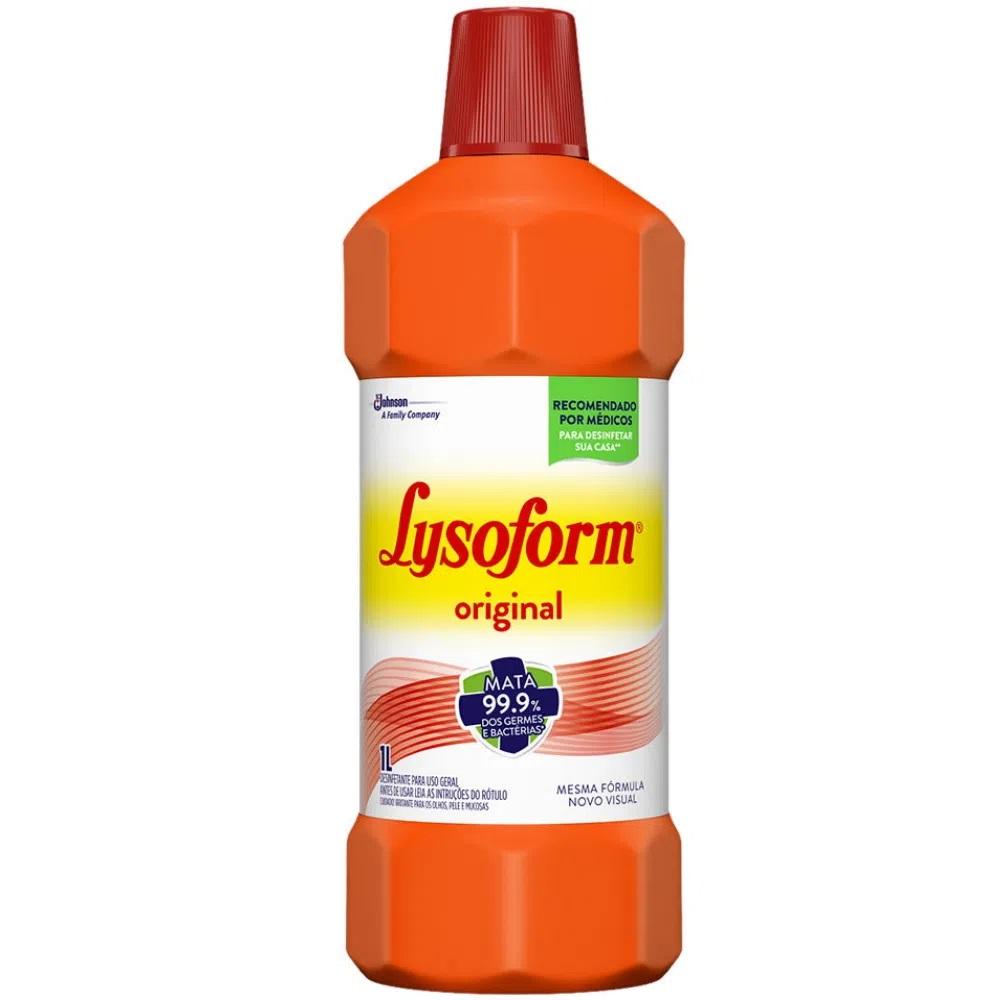 Desinfetante 1l Bruto Lysoform