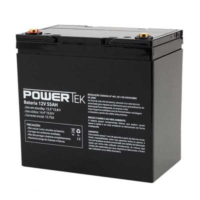 Bateria Powertek 12V 55AH EN023 1 UN Multilaser
