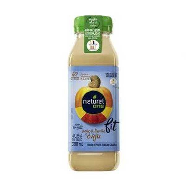 Suco de Caju Fit Garrafa 300ml 1 UN Natural One
