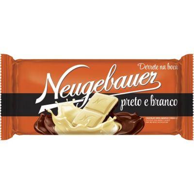 Chocolate Preto e Branco 90g 1 UN Neugebauer