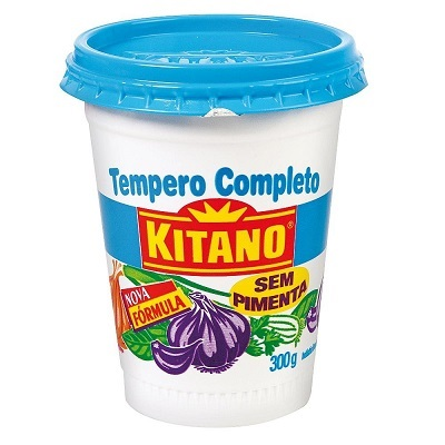 Tempero Completo sem Pimenta 300g Kitano