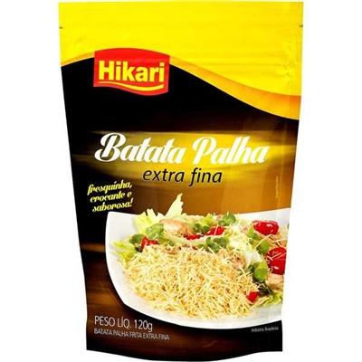 Batata Palha Extra Fina 120g Hikari