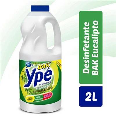 Desinfetante Bak 2L Eucalipto  1 UN Ypê