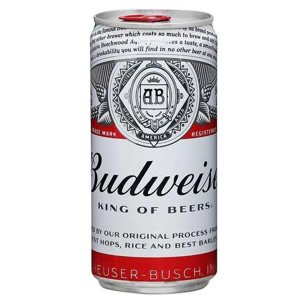 Cerveja Lata 269ml Budweiser