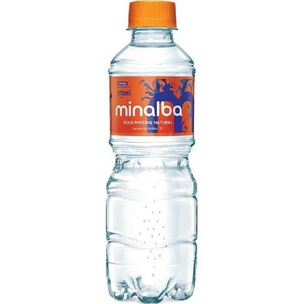 Água Mineral com Gás 310ml 1 UN Minalba