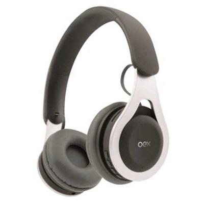 Headset Bluetooth Drop HS306 Cinza 1 UN Oex
