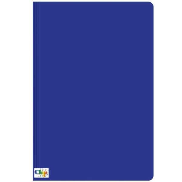 Pasta Ofício com Grampo Trilho Plástico Cartão Duplex 235x340mm Azul 1 UN Clipcolor