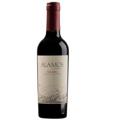 Vinho Tinto Alamos Malbec Meia Grfa. 375ml