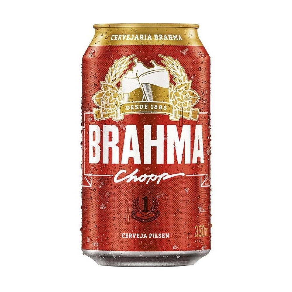 Cerveja Brahma Chopp Lata 350ml