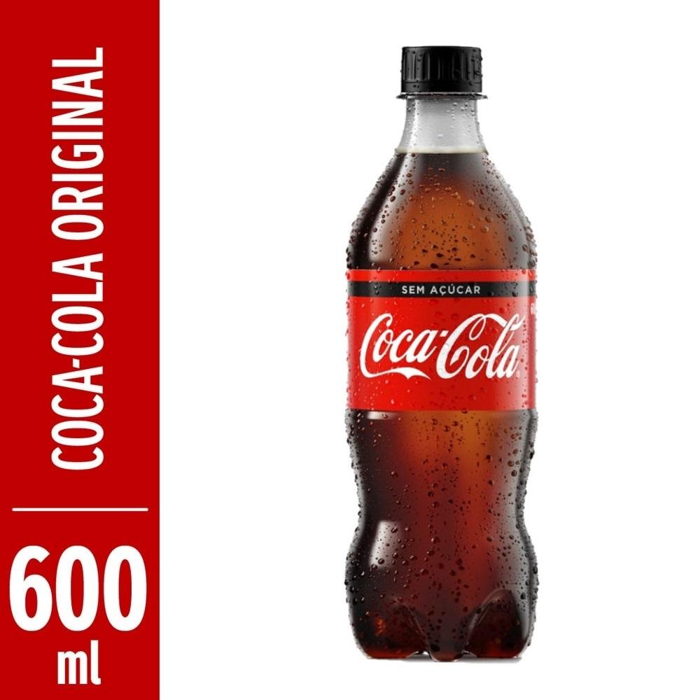 Refrigerante Coca Cola 600ml Pet