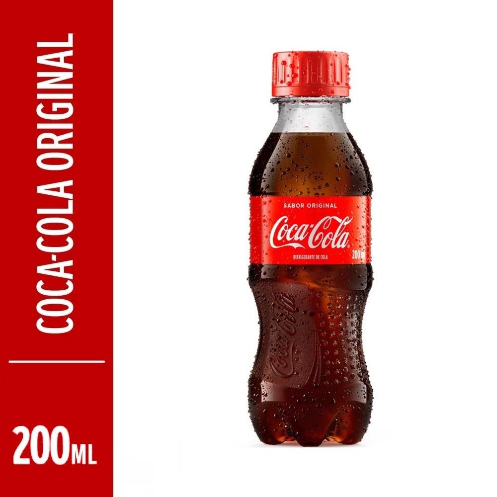 Refrigerante Coca Cola 200ml Pet