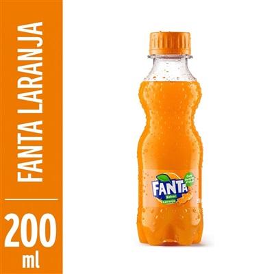 Refrigerante Fanta Laranja 200ml Garrafa