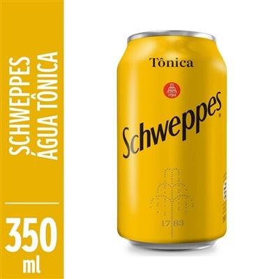 Água Tônica Schweppes 350ml Lata
