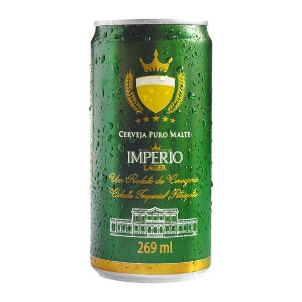 Cerveja Império Pilsen Lager Lata 269ml