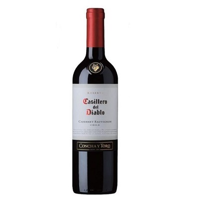 Vinho Tinto Cabernet Sauvignon 750 ml Casillero del Diablo