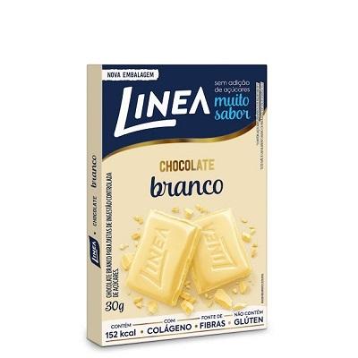 Chocolate Branco Zero 30g 1 UN Linea
