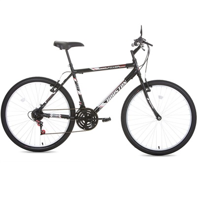 Bicicleta Foxer Hammer Aro 26 Preto 1 UN Houston